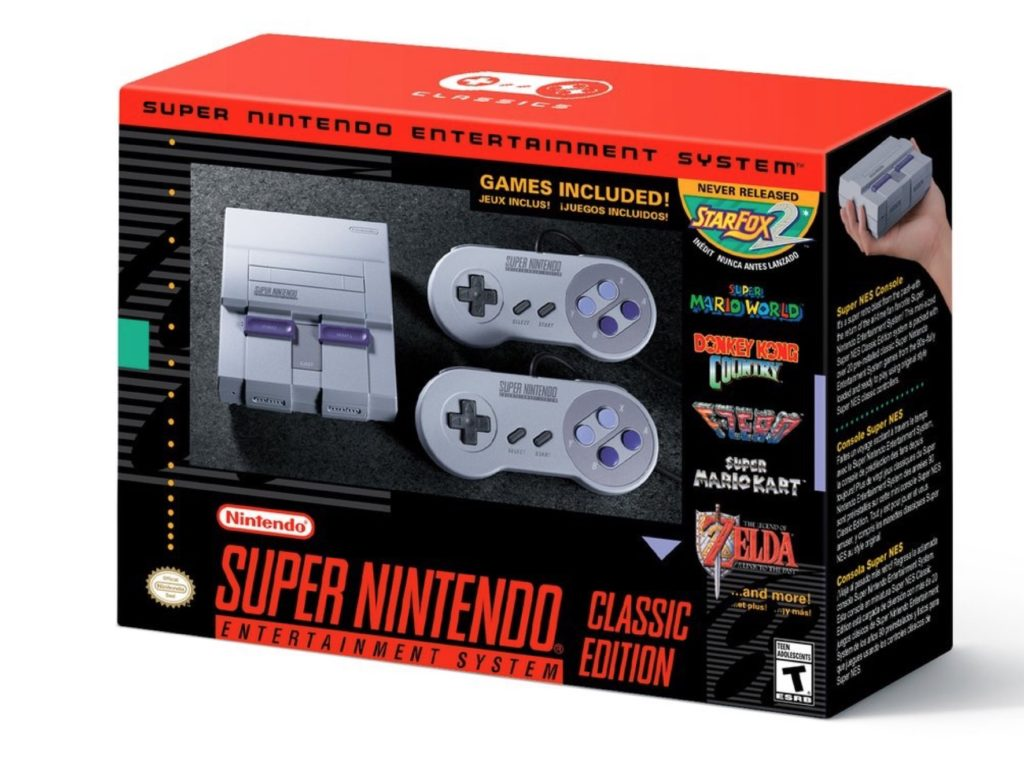 Nation Super Nintendo Mini Classic Edition