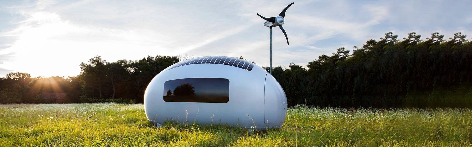 Nation - Ecocapsule: una casa portátil y sustentable