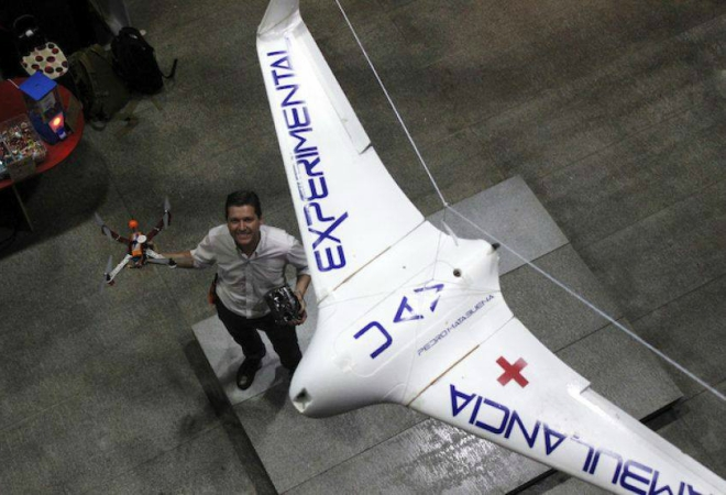 Mexicano crea dron ambulancia para ayudar a comunidades rurales-NATION