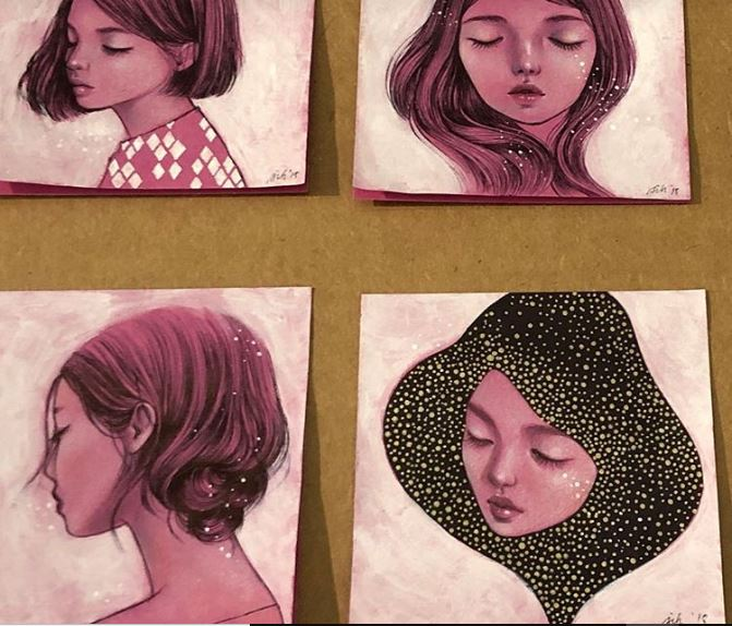 Este artista crea obras de arte hermosas en simples Post-it-NATION