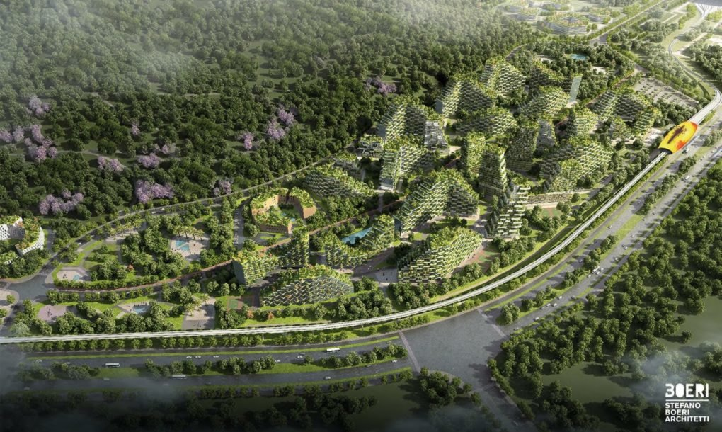 China quiere crear la primer ciudad forestal del mundo-NATION