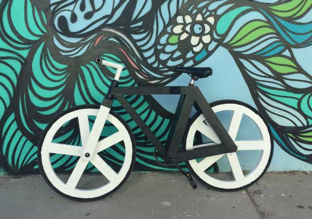 Mexicano crea bicicleta hecha de papel reciclado-NATION