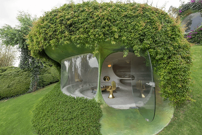 Esta casa es casi invisible y se integra a la perfección con la naturaleza-NATION